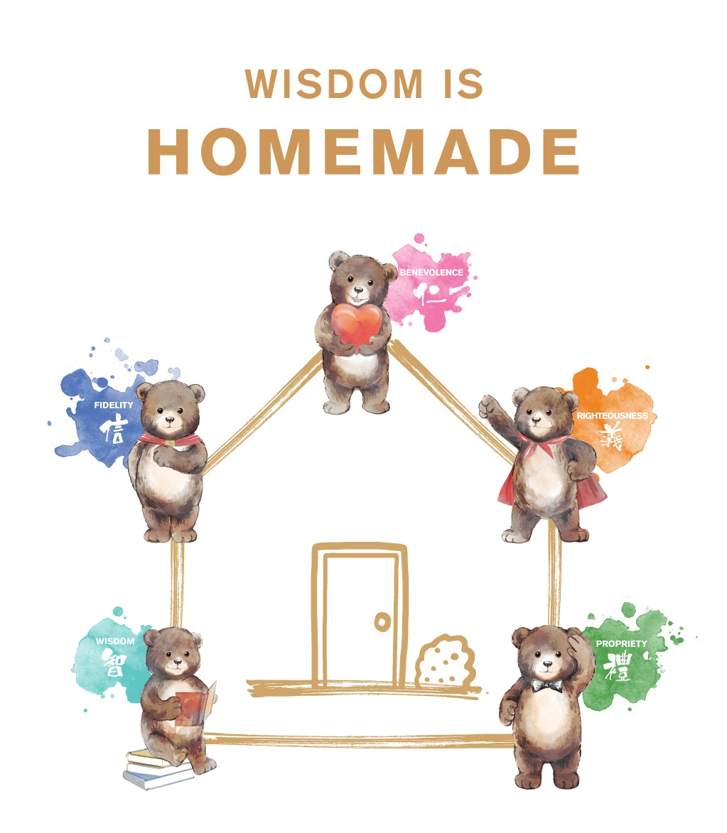 LM-Home&Kids_Wisdom is Homemade
