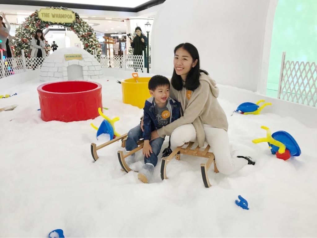 【聖誕好去處】坐雪橇 X 玩雪 黃埔「鹿」遊聖誕冰雪樂園